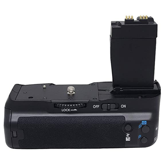 4a3197c4f9 Amazon.com : Meike® Vertical Battery Grip for Canon EOS Rebel T2i / 550D,  Rebel T3i / 600D, Rebel T4i / 650D, Rebel T5i / 700D BG-E8 : Digital Camera  ...