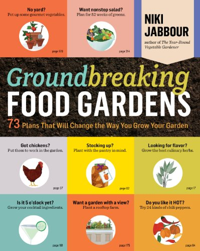 Groundbreaking Food Gardens: 73 Plans That Will Change the Way You Grow Your Garden (Small Backyards Patio Backyard Ideas For)