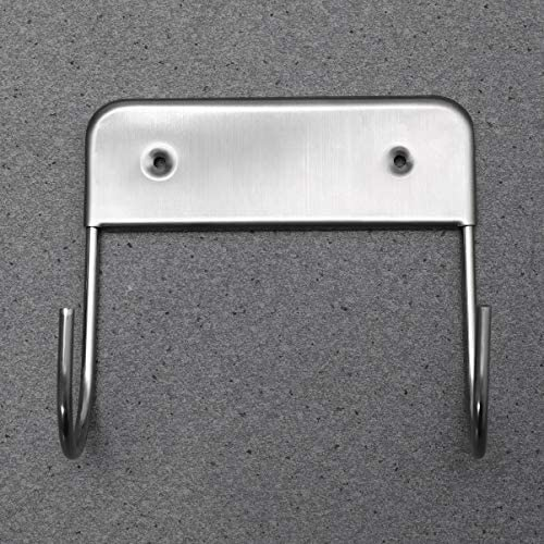None Iron Board Hook Wall Mount Stainless Steel Ironing Board Holder Organizer Caddy Shelf for Electric Iron Board