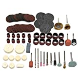 105pcs Rotary Accessories Electric Grinding Attachment Kit - Tool Accessories Power Tool Parts - 105pcs x Rotary Tool Mini Accessory