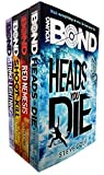 Young Bond Collection Steve Cole 4 Books Set (Strike Lightning, Shoot to Kill, Heads You Die, Red Nemesis)