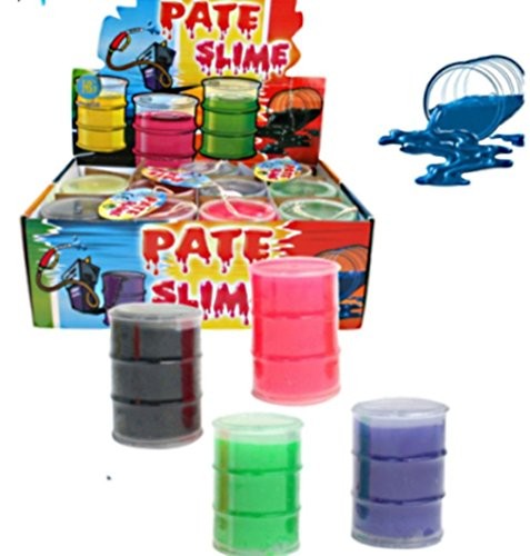 1 PASTE POT SLIM dripping STICKY COLORED TOY