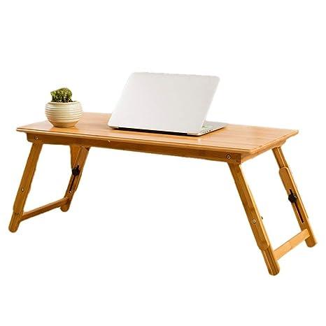 Mesa para Ordenador Mesa Plegable Mesa Portátil para Cama ...