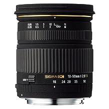 Sigma 18-50mm F/2.8 EX DC Lens for Canon Digital SLR Cameras