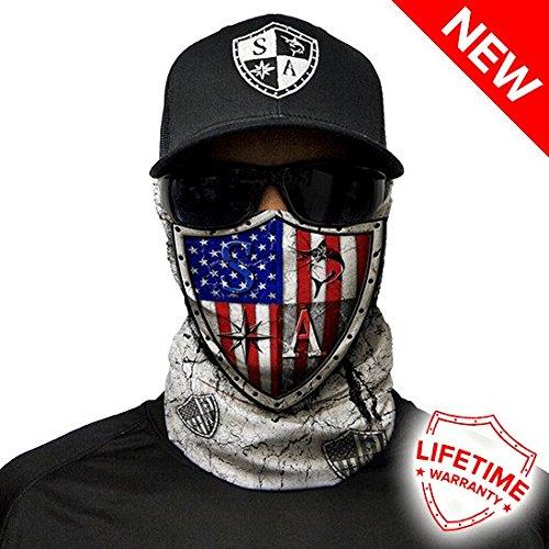 Salt Armour Freedom Face Shield Mask tubular bandanas Hunting Fishing Outdoor by salt Armour
