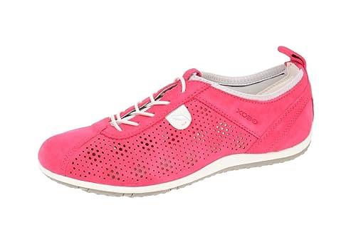 Geox Geox Vega fuchsia D4209A-00022-C8002 - Mocasines para mujer, color rojo, talla 39: Amazon.es: Zapatos y complementos