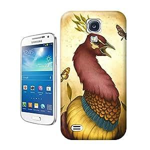 Hard Plastic Samsung Galaxy S4 Case, Fate Inn-197.Rooster (1)-Samsung Galaxy S4 case