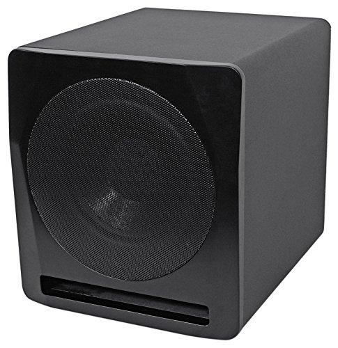 Rockville APM10B 10″ 400 Watt Powered Home Theater Subwoofer Sub – Studio Sound
