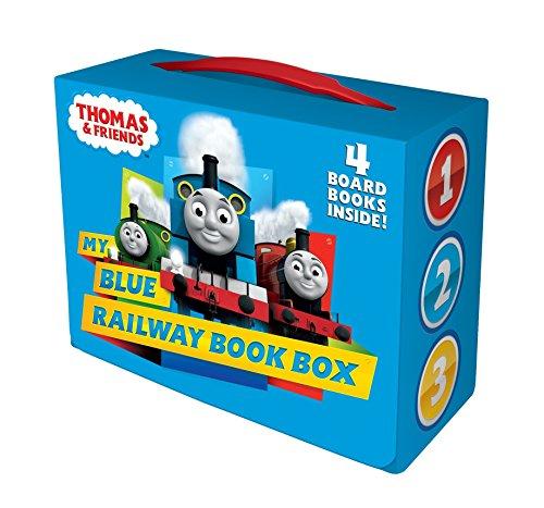 My Blue Railway Book Box (Thomas & Friends) (Bright & Early Board Books(TM))