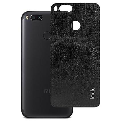 wholesale dealer 10aea e120f Xiaomi MI A1 Leather Back cover Case, DHAN GTB Imak: Amazon.in ...