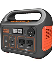 Jackery Portable Power Station Explorer 300, 293Wh Backup Lithium Battery, 110V/300W Pure Sine Wave AC Outlet, Solar Generator (Solar Panel Not Included) for Outdoors Camping Travel Hunting Emergency
