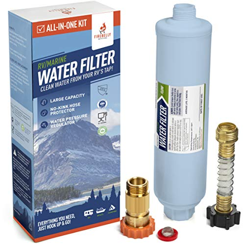 Firebelly Outfitters RV/Marine Inline Carbon Water Filter
