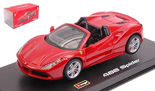 DIECAST 1:43 Signature Series - Ferrari 488 Spider (RED) 18-36905RD by BBURAGO