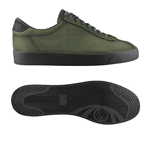 Superga Military black sueu 2843 Unisex Green tqrtwC4