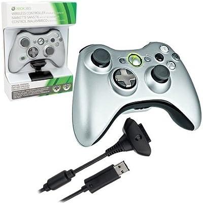 Microsoft Xbox 360 Wireless Controller - Volante/mando (Gamepad ...