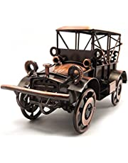 Tipmant Metal Antique Vintage Car Model Home Décor Decoration Accents Handmade Handcrafted Collections Collectible Vehicle Toys