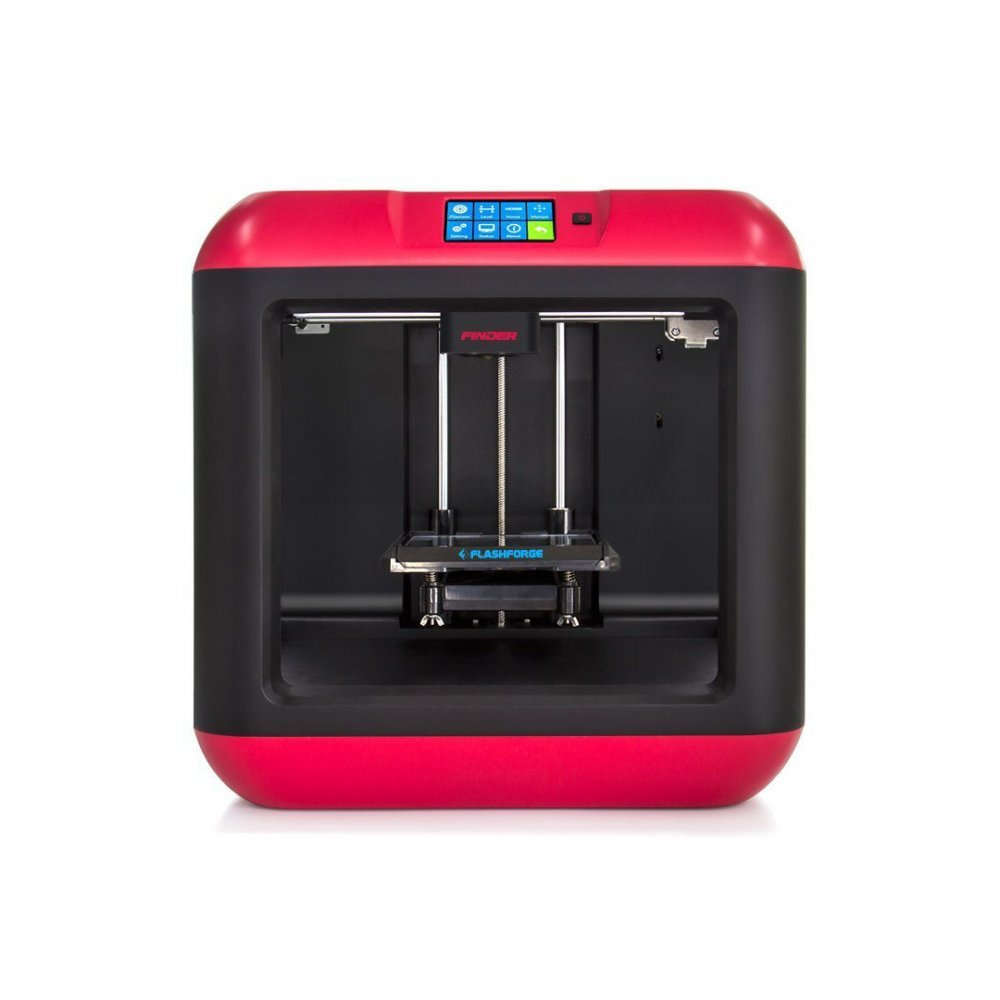 FlashForge Finder Impresora D Color Negro y Rojo