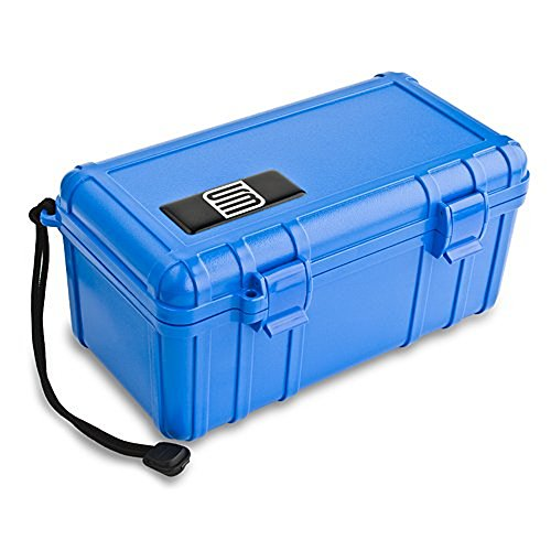 S3 Cell Carrying Case with Foam Liner for Universal - Non-Retail Packaging - Blue