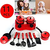 MAUBHYA 11PCS Children Pretended Role Paly Kitchen Utensil Accessories Cooking Toy Cookware Set SINGLE ITEM