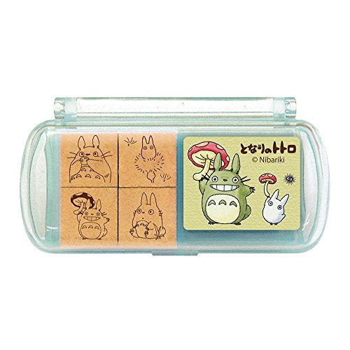 [Ghibli My Neighbor Totoro mini stamp set 6 From Japan New] (Cute Easy Group Costumes Ideas)