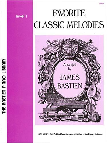 - WP73 - Favorite Classic Melodies - Level 1 - Bastien