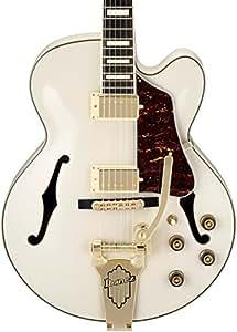 Ibanez AF75TDGIV AF Series Vintage Vibrato Electric Guitar, Ivory