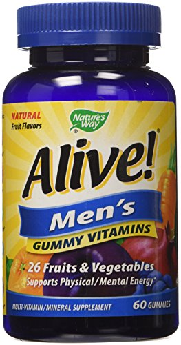 Nature's Way Alive! Men's Gummy Vitamins - 60 CT