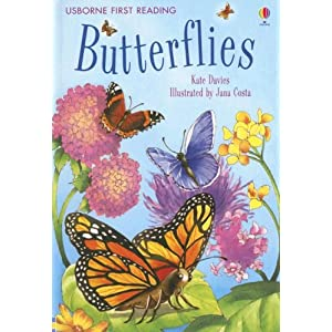 Butterflies (Usborne First Reading: Level 4) Kate Davies and Jana Costa
