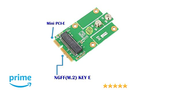 Amazon.com: SUPERPLUS M.2 (NGFF KEY E) to MPCIe (PCIe+USB ...