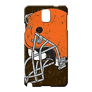 samsung note 3 Excellent Fitted Awesome Protective Cases phone back shells cleveland browns nfl football