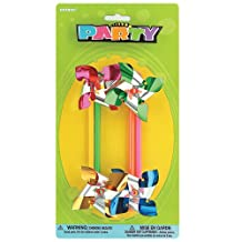 Pinwheel Party Favors, 4ct