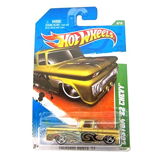 Hot Wheels Custom '62 Chevy '11 Treasure Hunts 54/244 -