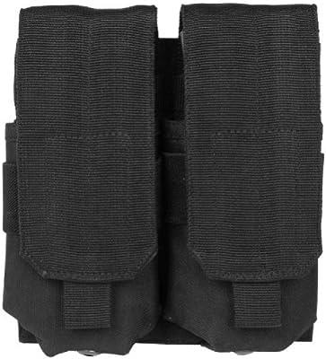 Mil-Tec Doble M4 / M16 Cargador Bolsa MOLLE Negro