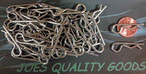 50 LARGE RC Body Clips Pins 1/5th Scale HPI Baja Losi (Large Body Pin)