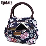 Best Lunch Bags For Ladies - Large Insulated Lunch Bag Lady Flower Work Tote Review