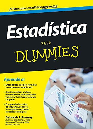 Descargar Libro Estadística. Para Dummies Deborah J. Rumsey