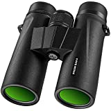 $38 Get Braoses Binoculars for Adults, 10x42 Binoculars with Low Night Vision, Compact HD Binoculars for Bird Watching, Travel, Hunting, Safari, Concerts, Sports, Stargazing and Outdoor, with BAK4 Prism, FMC