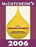McCutcheon's Emulsifiers and Detergents : North American and International Editions, , 1933430087