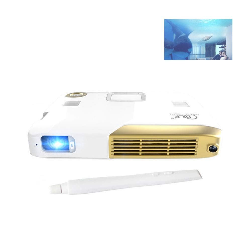 GJZhuan Proyector portátil Android TV LED Full HD 1080p Teatro en ...
