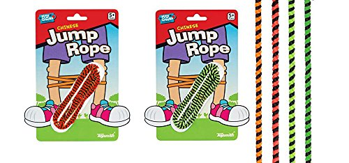 Chinese Jumprope (Colors May Vary) (2-Pack)