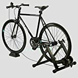 Bike Trainer Stand Mountain Bike Exercise Stationary Spin Bike Trainer Indoor Biking Cycle Portable Riser Fitness Bike Stand & e Book by AllTim3Shopping