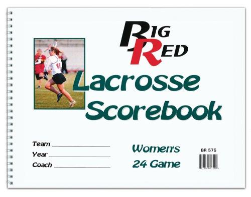Womens Big Red Lacrosse Scorebook by Big Red (Image #2)