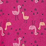Gerber Baby Girls' 4-Pack Footed Pajamas, Pink