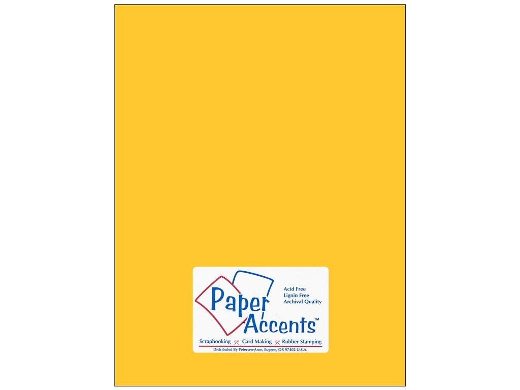 Cardstock 8 1/2 x 11 in. #105 Smooth Canary Yellow (250 sheets)