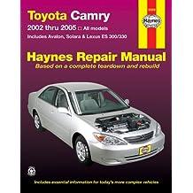 Toyota Camry,Avalon,Solara,Lexus ES300/330 Repair Manual 2002-2005