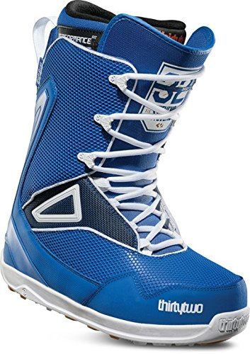 thirtytwo Tm-2 Stevens '18 Snowboard Boots, Blue/White/Gum, 10 by thirtytwo