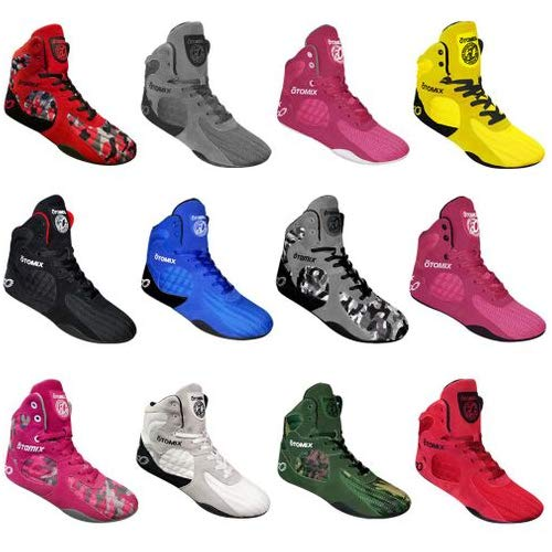 Otomix Yellow Stingray Escape Bodybuilding Weightlifting MMA /& Boxing Shoe Mens