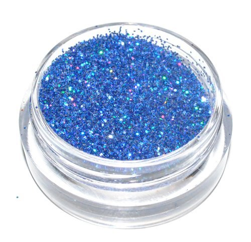 Dark Blue Sparkle Laser Eye Shadow Loose Glitter Dust Body Face Nail Art Party Shimmer Make-Up by Kiara H& B