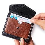 Women's RFID Blocking Small Wallet Bifold Leather Pocket Ladies Mini Purse