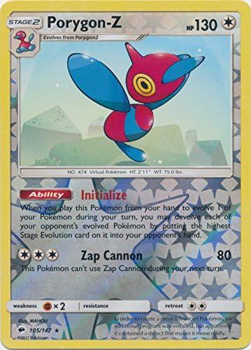 105//147 Reverse Holo Rare NM-Mint Pokemon SM03 Burning Shadow 4x Porygon-Z